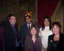 Neil, Ranjit, Lisa, Rosie, Mary-Ann